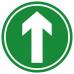 Ahead Arrow Social Distancing Anti-Slip Floor Marker