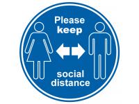 Please keep social distance anti Slip...