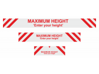 Max height enter your own text sign