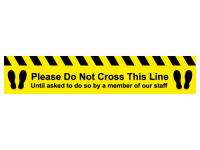 Please do not cross this line until a...